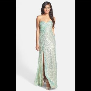 Amazing sequins gown